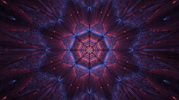 Космический фон из фиолетовых и черных лазерных огней Бесплатные Фотографии