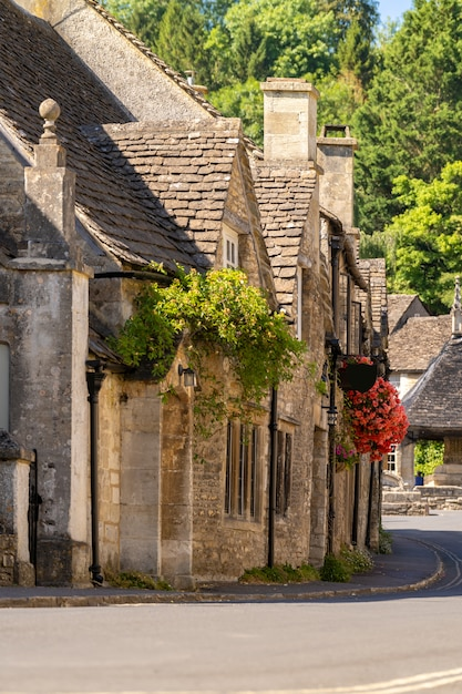 Cotswolds villages england uk Premium Photo