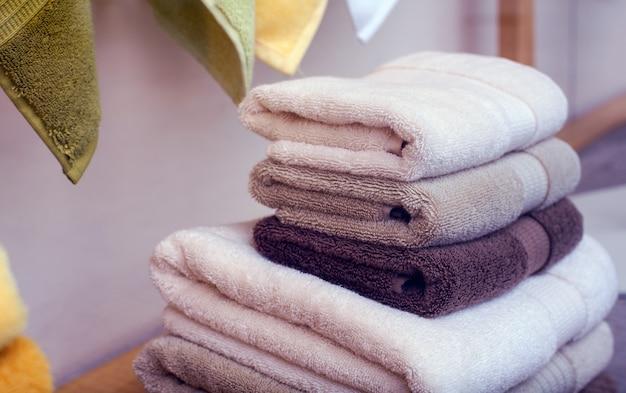 Cotton towels Premium Photo