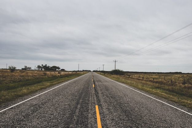 Country road background Premium Photo