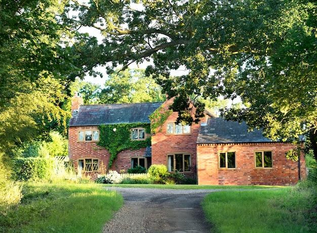 Countryside house Free Photo