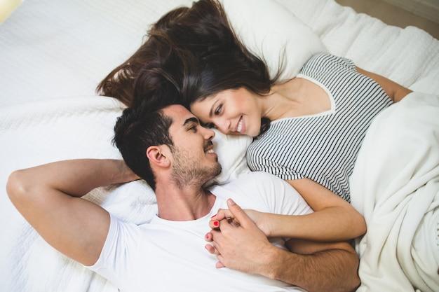 Hasil gambar untuk couple in bed