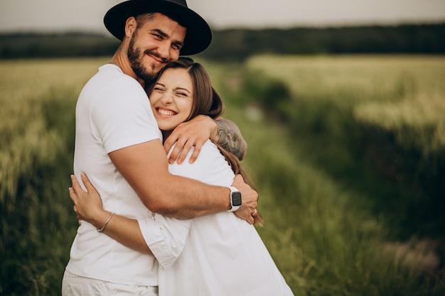Пара беременна, ждет ребенка Бесплатные Фотографии