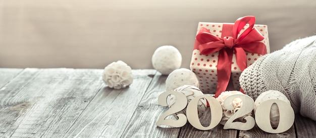 Accogliente capodanno nuovo anno 2020 Foto Gratuite