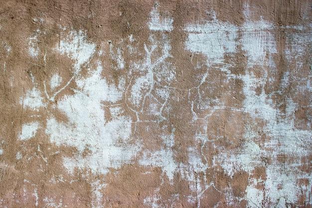 Cracked concrete vintage wall background, Premium Photo
