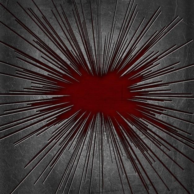 Cracked Metal Texture Background With Grunge Underlay Photo