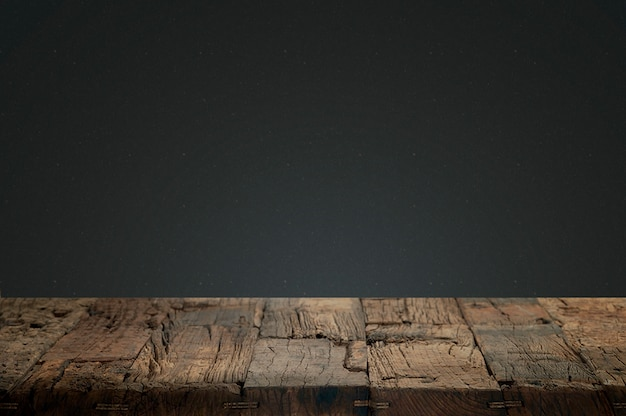 Cracked wood with a dark background Free Photo