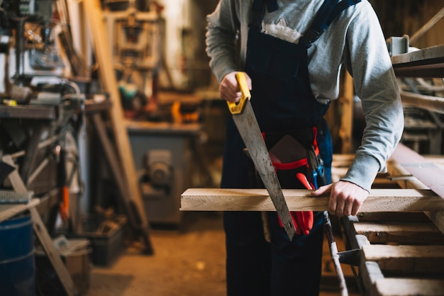 Craftsman working Premium Photo