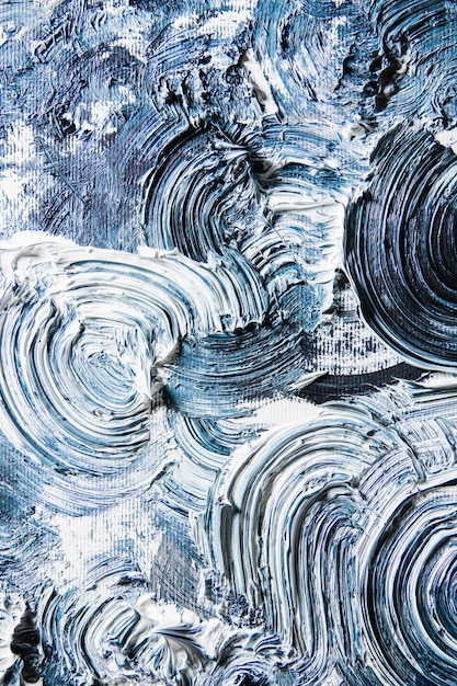 Cream textured painting on seamless background, abstract artwork. Free Photo