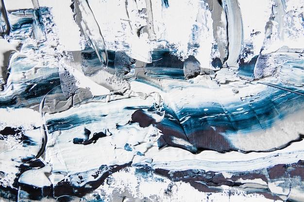 Crema testurizzata pittura su sfondo senza giunture, opere d'arte astratta. Foto Gratuite