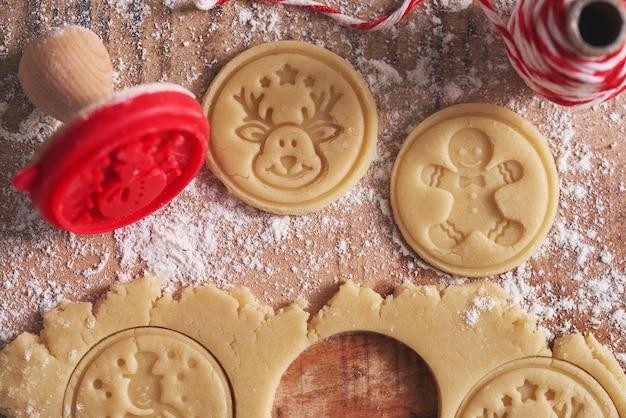 크리스마스 쿠키 생성 무료 사진