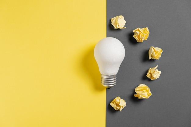 Creative solution during brainstorming session. Premium Photo