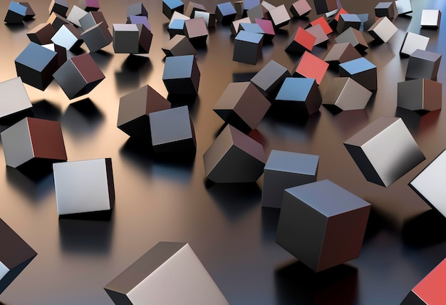 다른 큐브와 크리 에이 티브 벽지 무료 사진