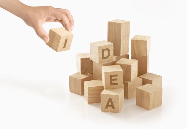 Creativity & idea concept Premium Photo