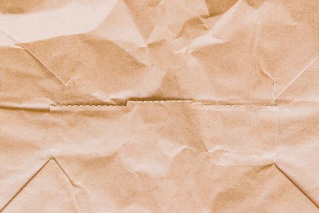 Crinkled cardboard texture Free Photo