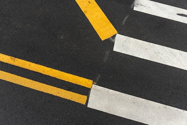 Crosswalks closeup Free Photo