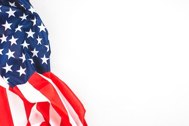 Crumpled american flag Free Photo