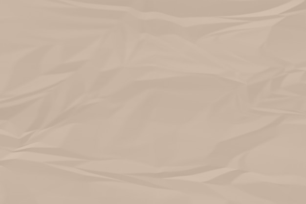 Crumpled brown paper background close up Premium Photo