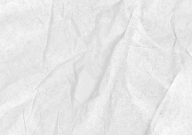 Crumpled white paperboard Free Photo