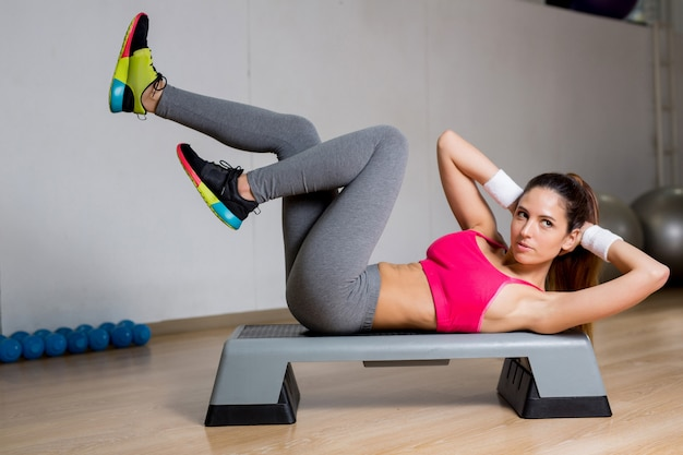 Crunches Free Photo