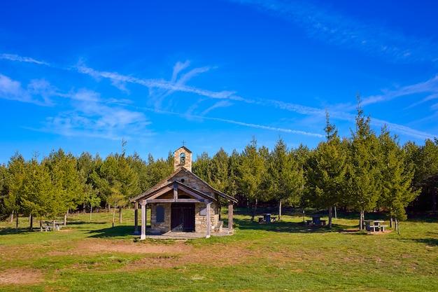 Cruz de ferro church at saint james way leon Premium Photo
