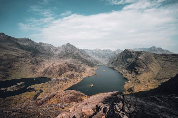 Il cuillin sull'isola di skye, in scozia Foto Gratuite