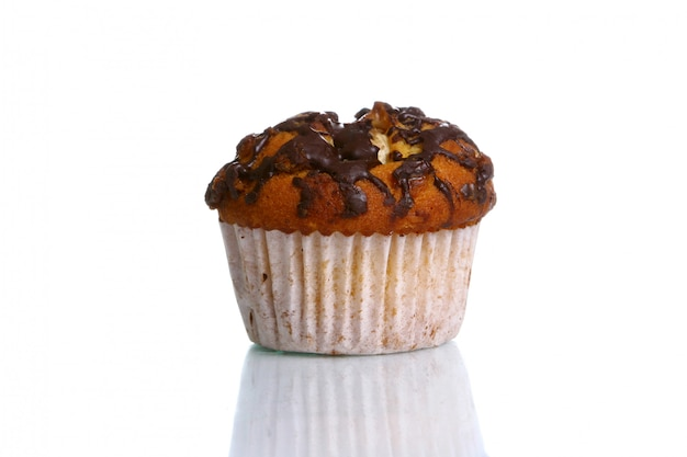 Cupcake with grated chocolate Free Photo