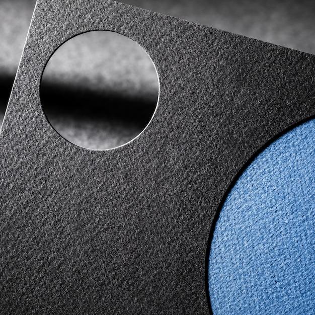 Вырезать текстурированную бумагу крупным планом брендинг Бесплатные Фотографии
