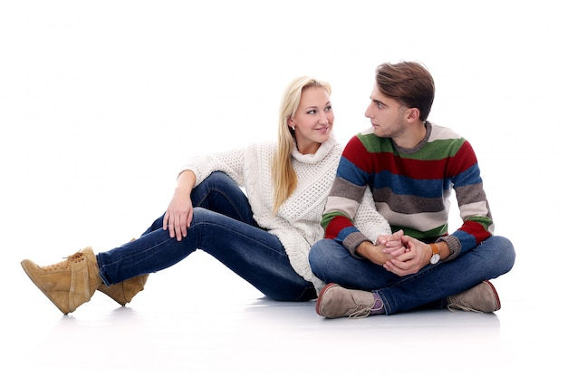 Cute couple are inlove in each other Free Photo