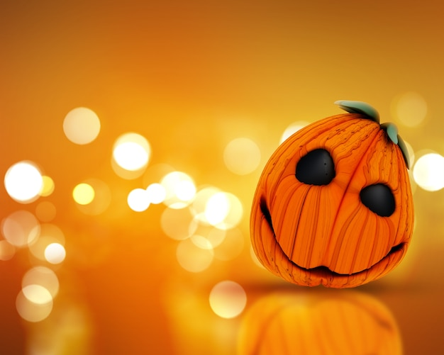 Cute halloween pumpkin Photo | Free Download