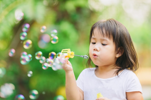 Image result for kids blowing bubbles