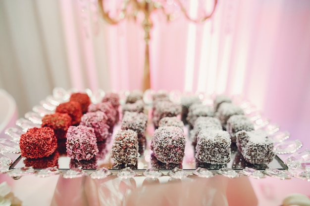 Cute wedding buffet Free Photo