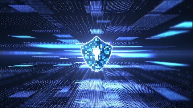 Cyber security concept Premium Photo