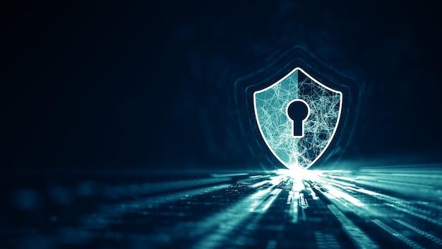 Cyber security concept. Premium Photo