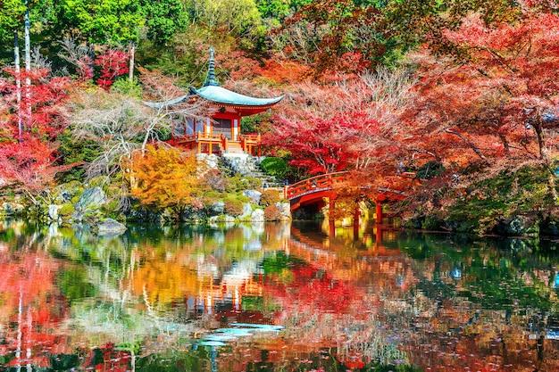 京都の秋の醍醐寺。日本の秋の季節。 無料写真