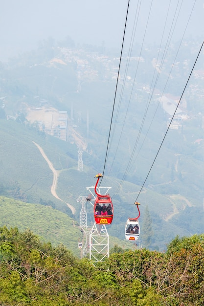 The darjeeling ropeway Premium Photo