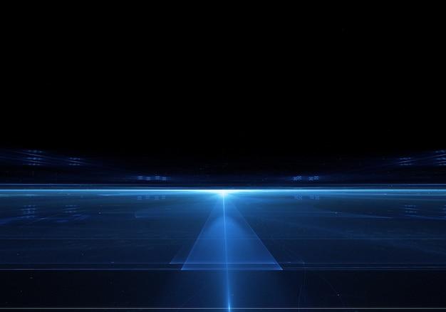 dark background with bright blue line photo free download