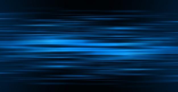 Dark blue light abstract Premium Photo
