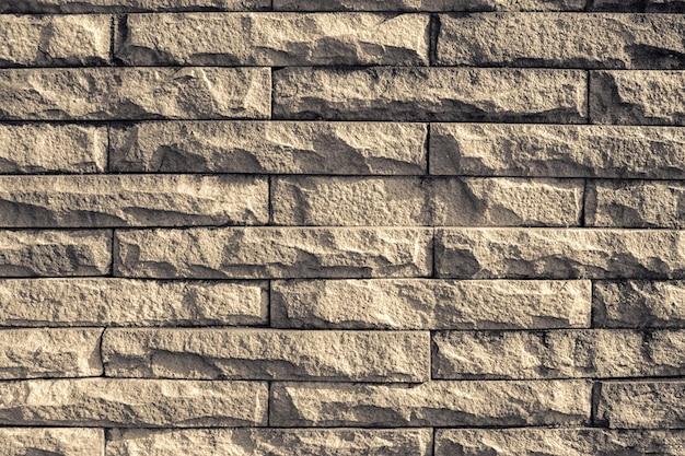 Dark Brown Wall Brick Texture Wallpaper Background Premium Photo