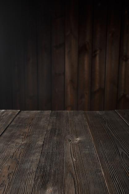 dark brown wood table photo free download