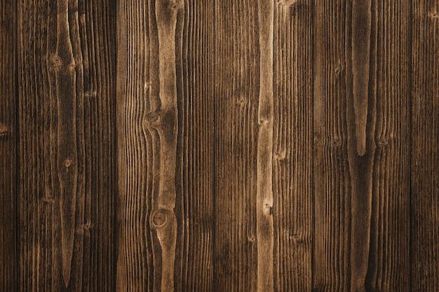 Dark brown wood texture with natural striped wood Premium Photo