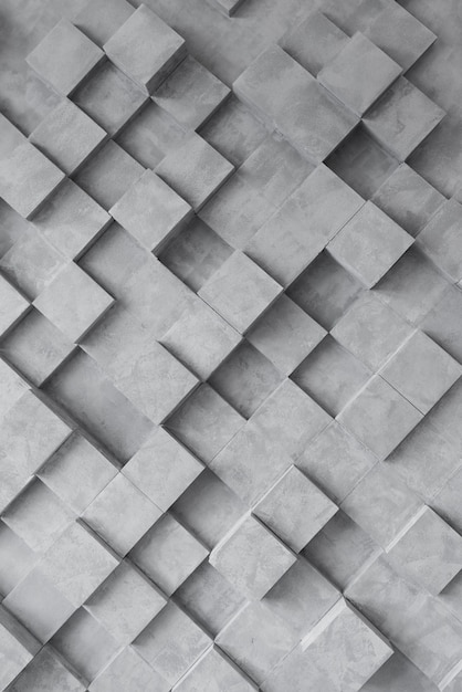 Dark geometric background with squares Free Photo
