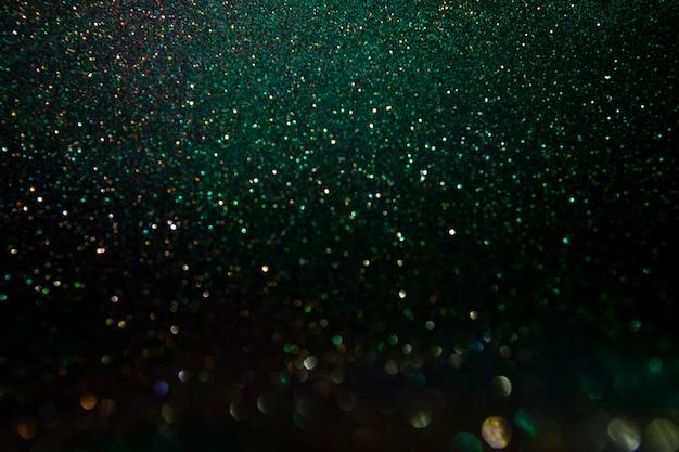 キラキラビンテージライト。抽象的なdark.glitter素晴らしいライト。 Premium写真
