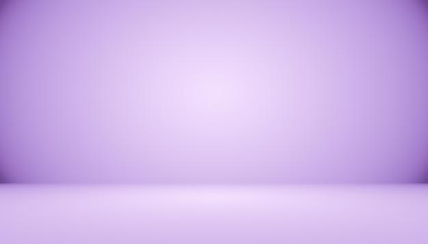 Предпосылка комнаты студии темного градиента фиолетовая для продукта. Premium Фотографии