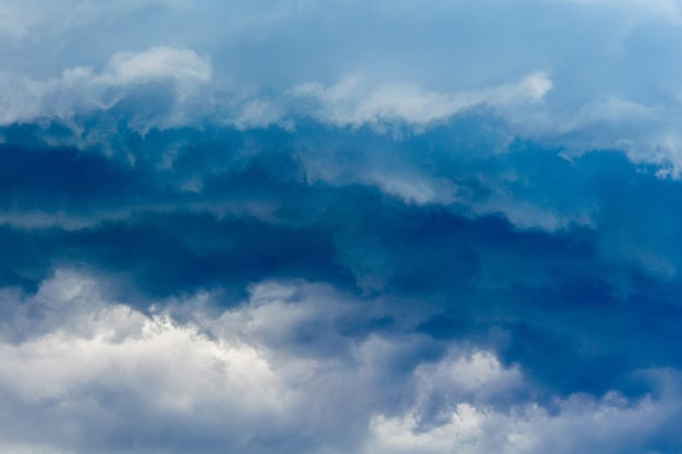 Dark grey stormy clouds Premium Photo