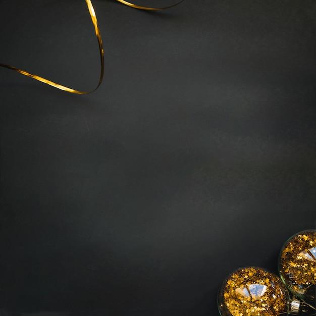 dark new year background free photo