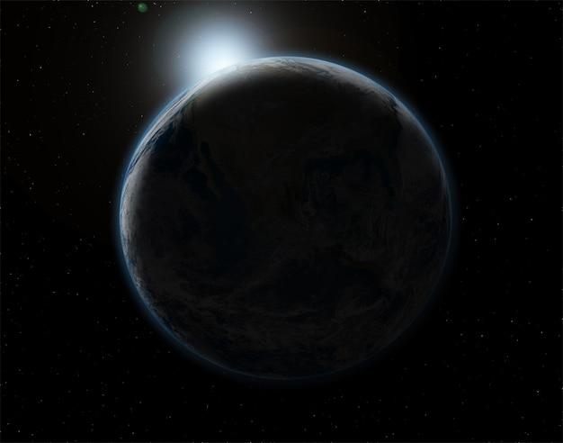 Dark planet Free Photo