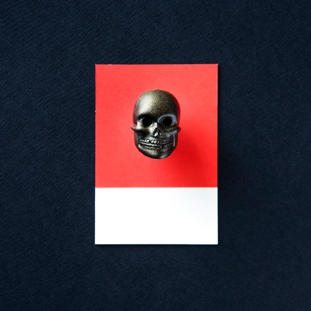 Scuro scheletro volto cranio testa giocattolo Foto Gratuite