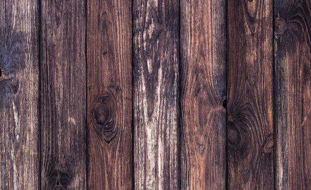 Темное дерево фона, старая деревянная текстура Premium Фотографии