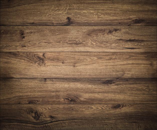 Dark wood background. wooden board texture. structure of natural plank. Premium Photo